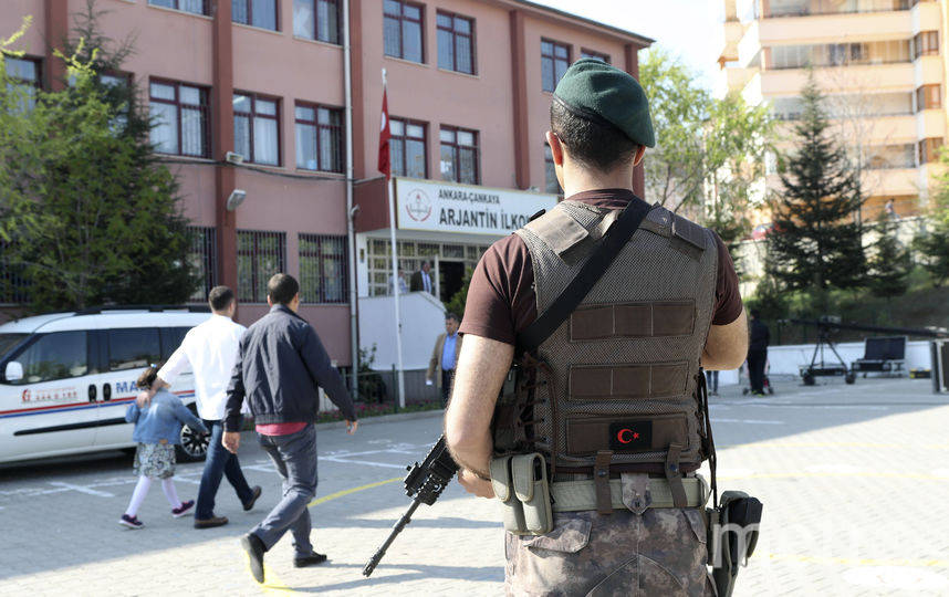 Референдум в Турции. Фото AFP