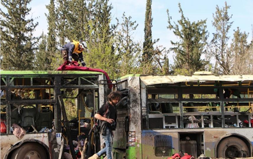 Взрыв в Алеппо: первые кадры. Фото Getty