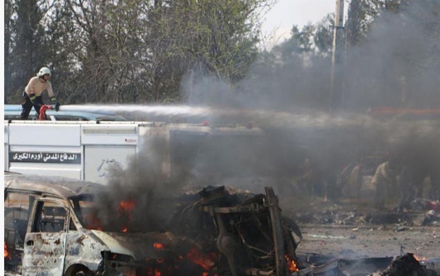 ВАлеппо произошёл взрыв, есть жертвы