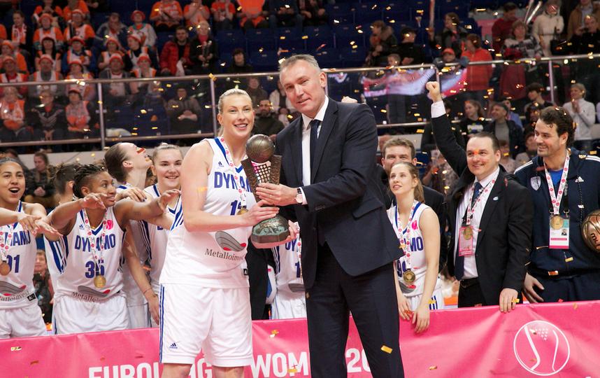 Баскетболистки курского «Динамо» выиграли Евролигу