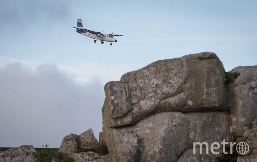 Небольшой самолёт в полёте. Фото Getty