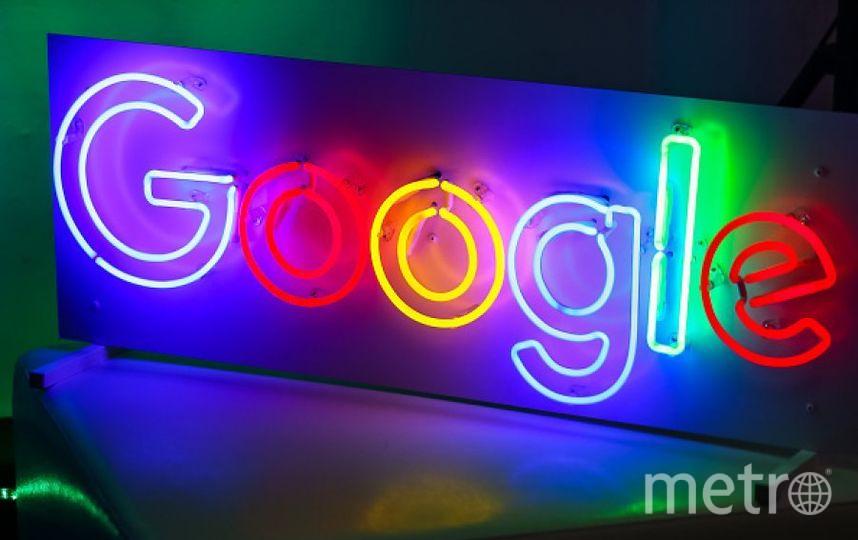 Логотип Google. Фото Getty