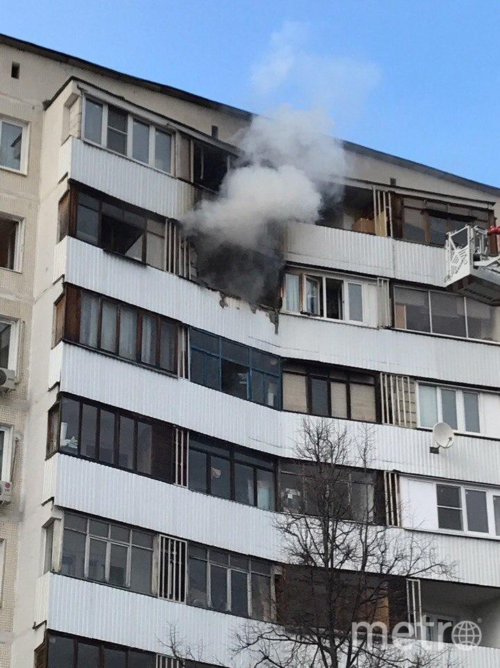 Место происшествия. Фото скриншот vk.com/mskdtp