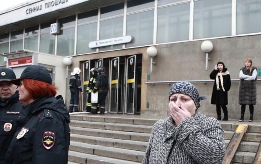 В петербургском метро погибло 14 человек. Фото Getty