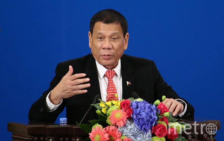 Президент Филиппин Родриго Дутерте. Фото Getty