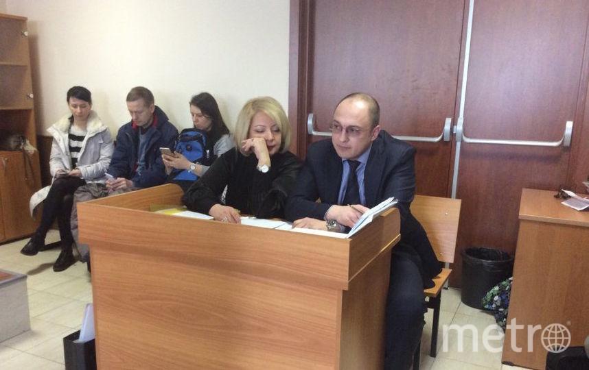 """Фото из зала суда. Фото Мария Беленькая., """"Metro"""""""