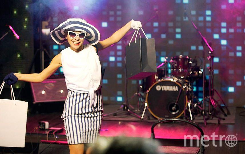 Наталья Перова на сцене.