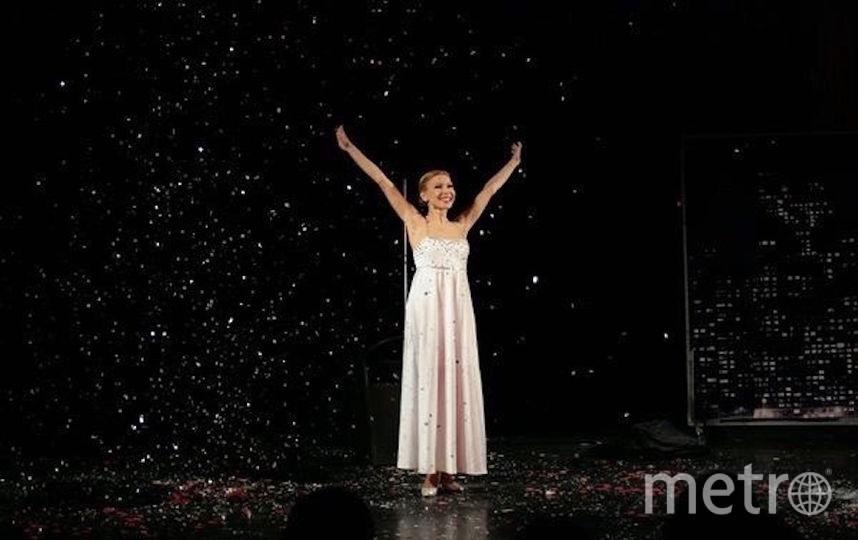 Наталья Перова на сцене. Фото из личного архива Натальи Перовой