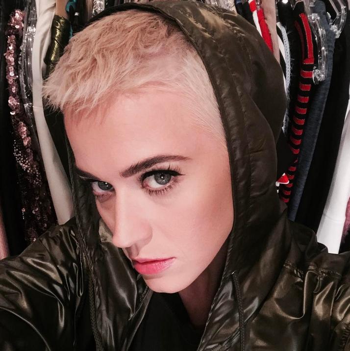 Кэти Перри приняли за Джастина Бибера. Фото Скриншот Instagram/katyperry