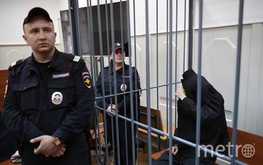 Аброр Азимов в Басманном суде Москвы. Фото РИА Новости