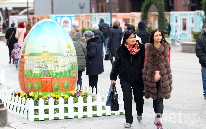 Холода в Москве. Фото Василий Кузьмичёнок