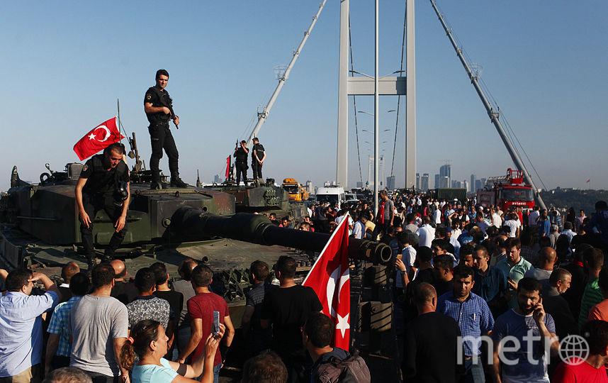 Попытка военного переворота в Турции, 16 июля 2016 года. Фото Getty