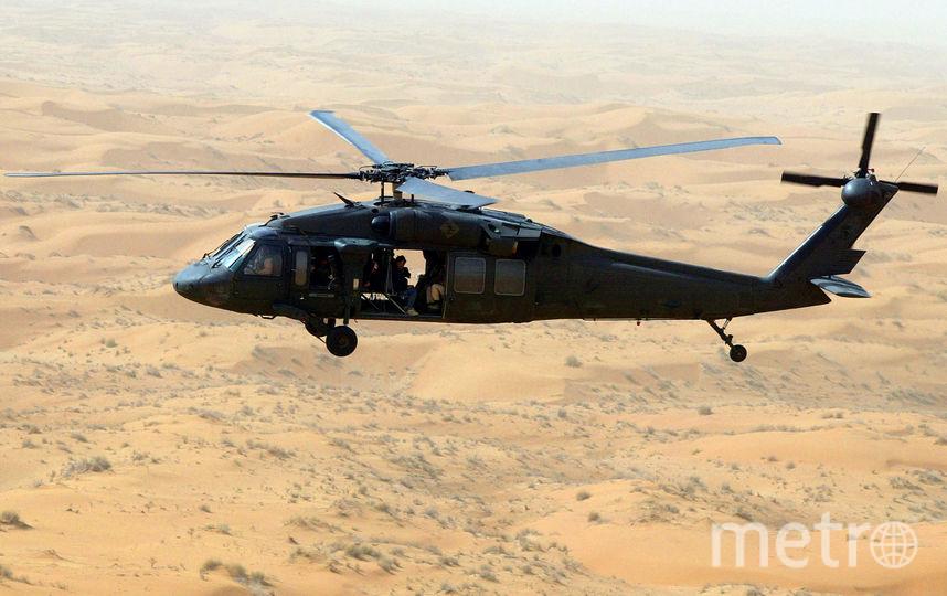 При крушении вертолета Саудовской Аравии вЙемене погибли 12 человек