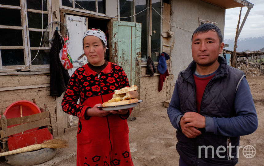 """Младший сын в киргизских семьях всегда остаётся с родителями. Фото Алена Бобрович., """"Metro"""""""