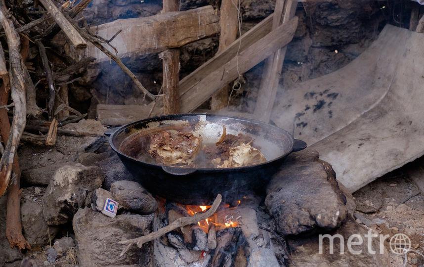 """Горные киргизы живут натуральным хозяйством. Фото Алена Бобрович., """"Metro"""""""