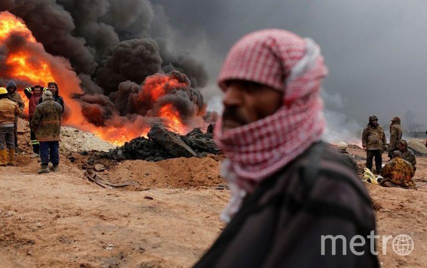 Кадры хода операции по освобождению Мосула. Фото Getty