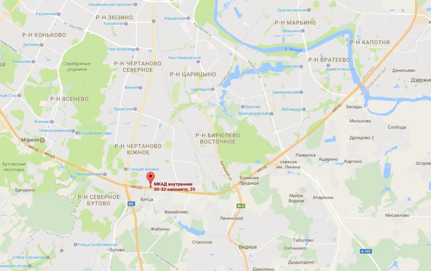 Место происшествия. Фото google.ru/maps