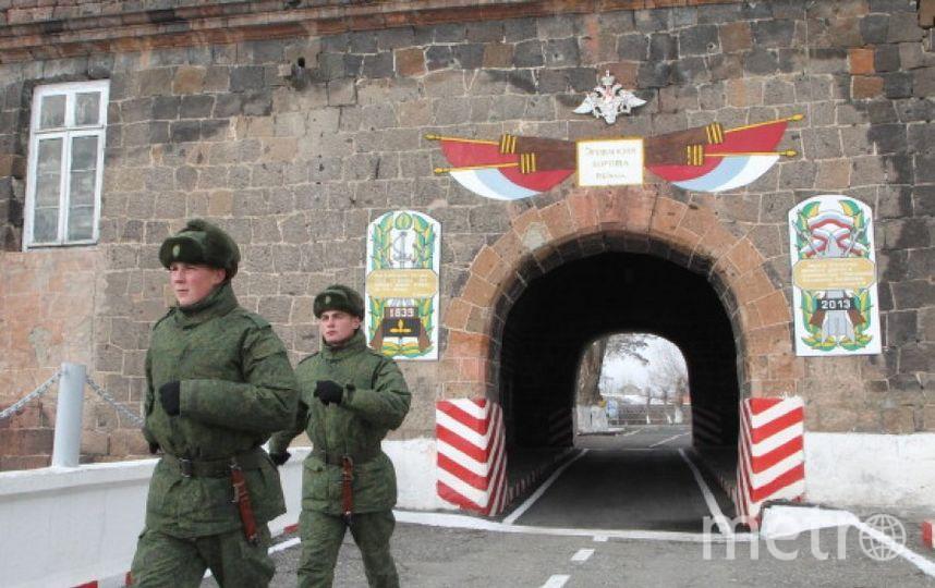 Российская база в армянском Гюмри. Фото Getty