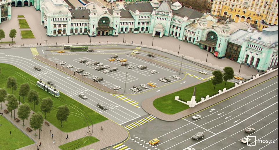 Площадь Тверская Застава. Фото mos.ru
