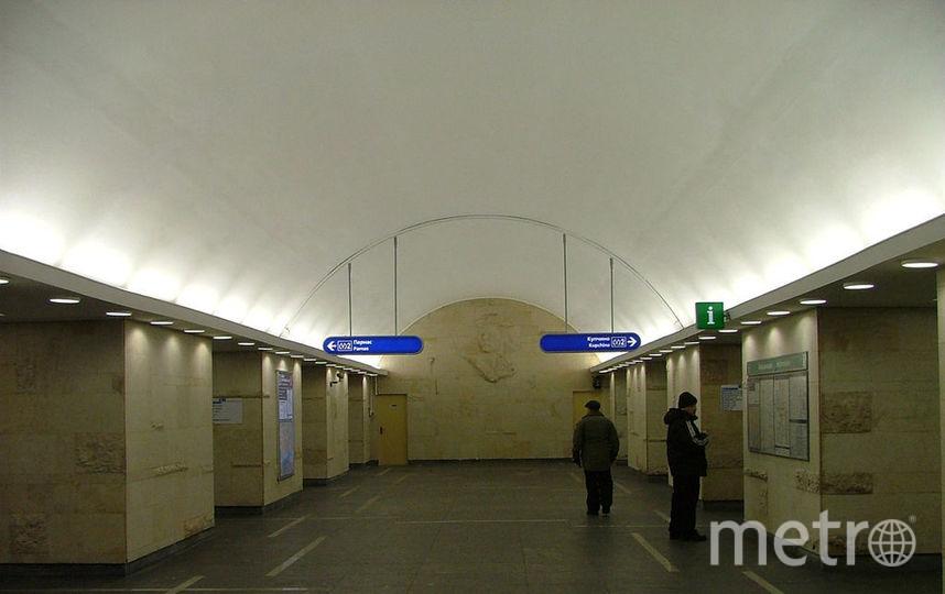 Пассажиров метро высадили на«Горьковской» из-за бесхозного пакета
