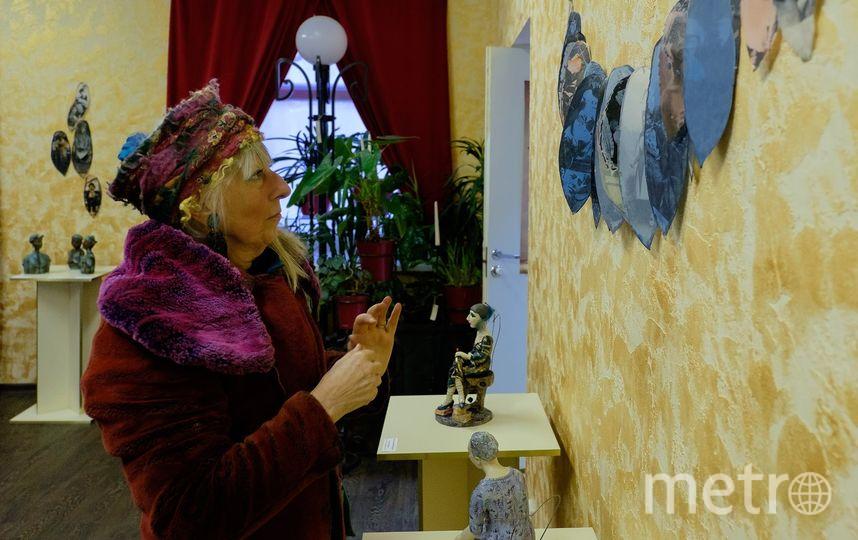 """Свои работы Надежда ван Иттерсум показала в музее """"Русский Левша"""". Фото Алена Бобрович."""