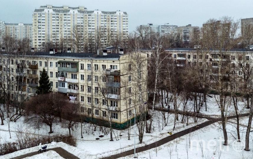 Старые пятиэтажные дома в Москве (архивное фото). Фото РИА Новости