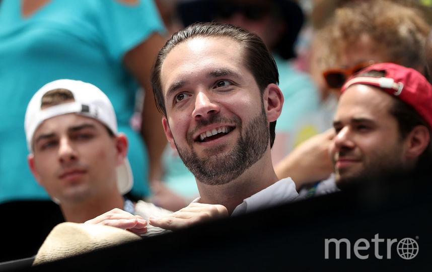 Избранник Серены Уильямс интернет-предприниматель Алексис Оганян. Фото Getty