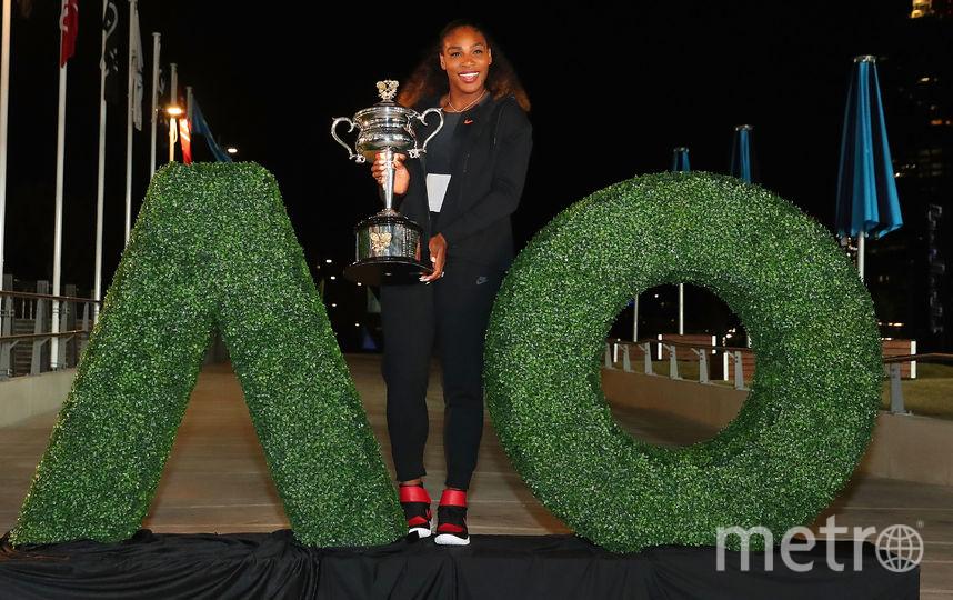 Американская теннисистка Серена Уильямс. Фото Getty
