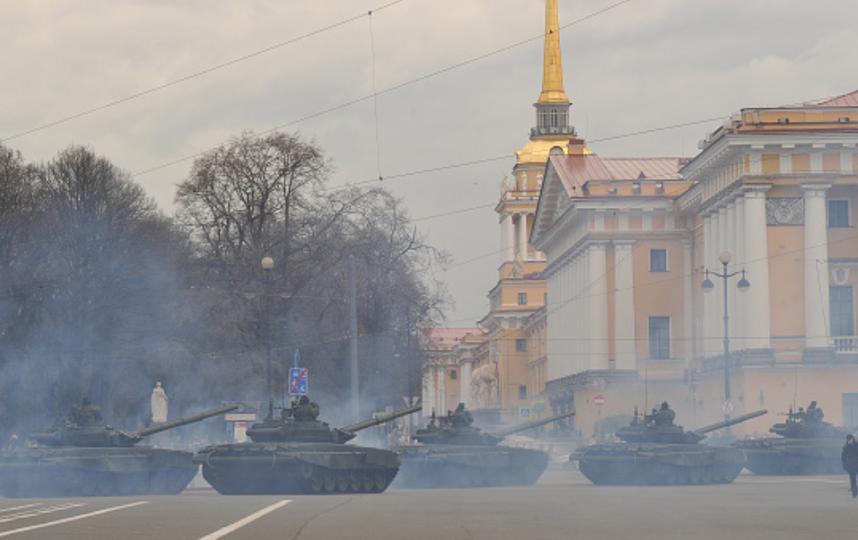 На 9 мая в Петербурге пройдет Бессмертный полк, а вечером будет салют. Фото Getty