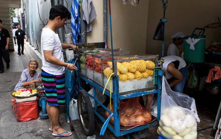 Уличную еду Бангкока National Geografic назвал лучшей в мире. Фото Getty