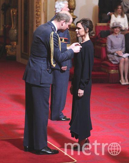 Виктория Бекхэм получила Орден Британской империи. Фото Getty