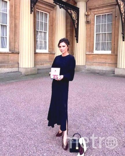 Виктория Бекхэм получила Орден Британской империи. Фото Instagram