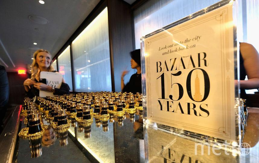 Вечеринка Harper Bazaar по случаю 150-летия модного журнала прошла в Нью-Йорке. Фото Getty
