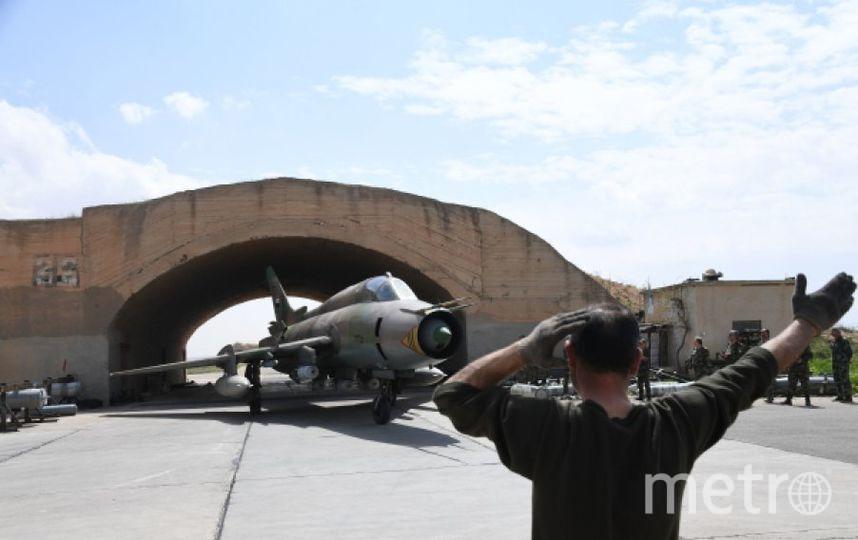 Сирийские ВВС. Фото РИА Новости