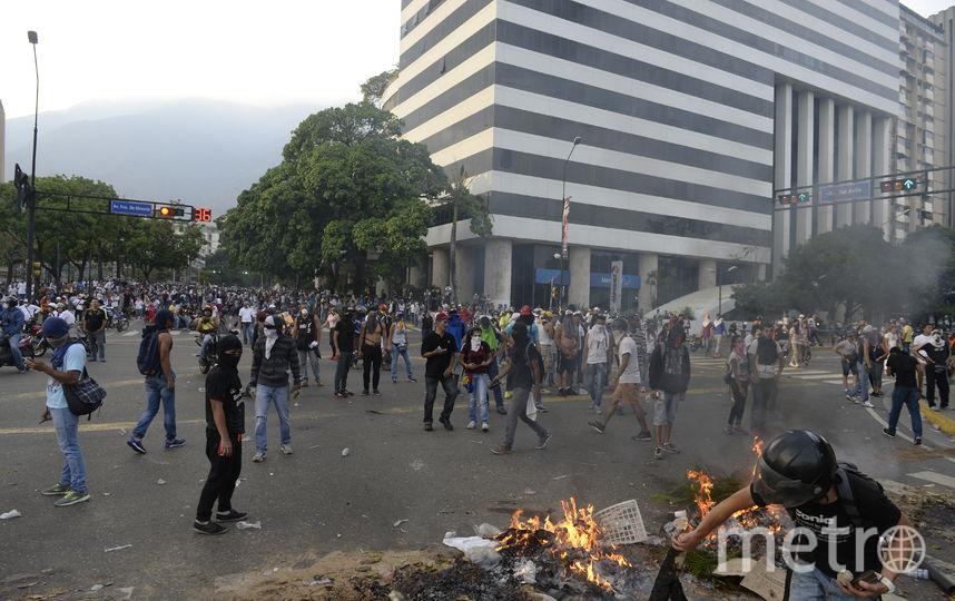 Политический кризис в Венесуэле. Фото AFP