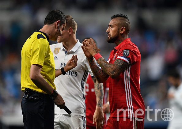 Арбитры ошибались как в пользу «Реала», так и «Баварии». Фото Getty