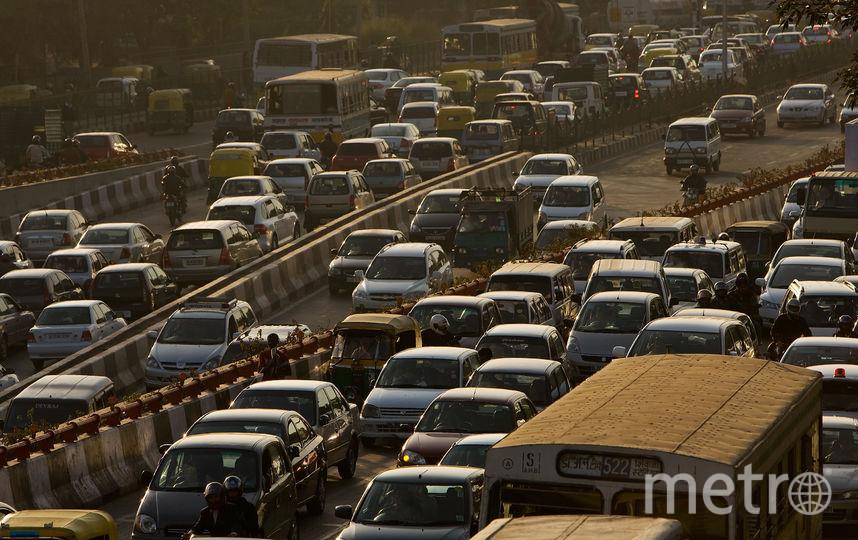Трафик в Индии. Фото Getty