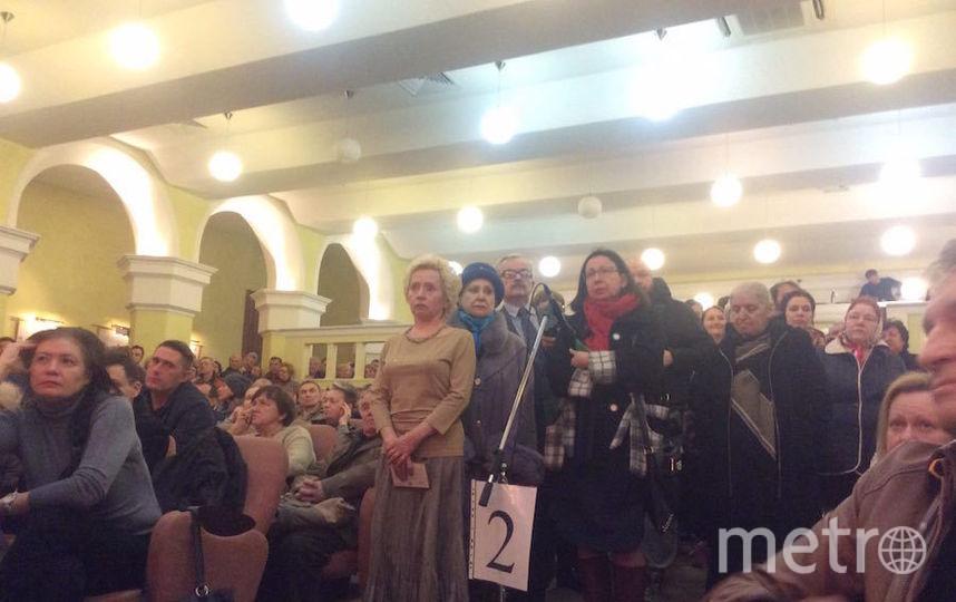 Встреча с жителями Пресненского района Москвы по поводу реновации. Фото Мария Беленькая
