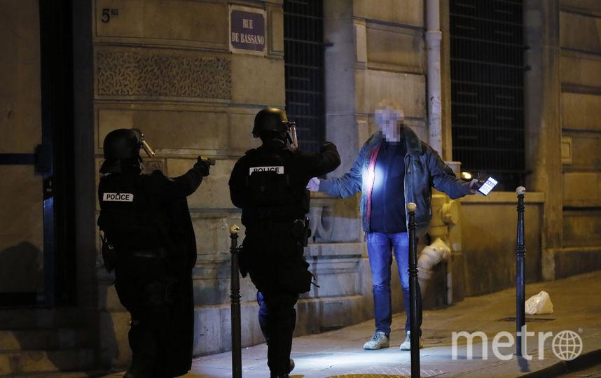 Стрельба в центре Парижа. Фото AFP