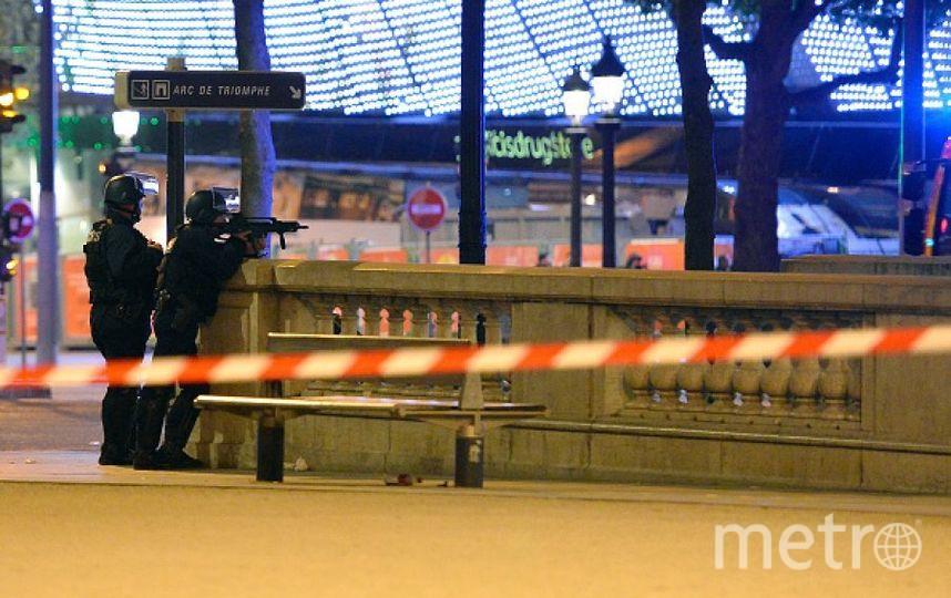 Кадры с места преступления в Париже. Фото Getty