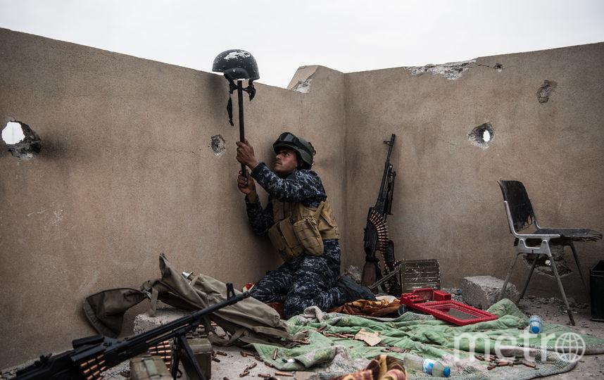 Правительственные войска продолжают сдерживать боевиков. Фото Getty