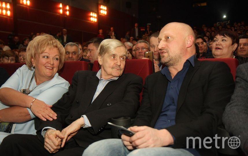 На кинофестиваль в Гатчину приехали Татьяна Догилева с дочкой и Гоша Куценко. Фото Михаил Садчиков-младший