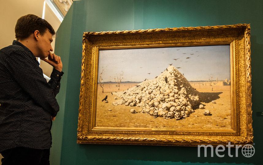 """Верещагин в Русском музее. Фото Святослав Акимов, """"Metro"""""""