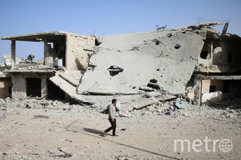 Израиль сбросил две ракеты на Сирию. Фото AFP