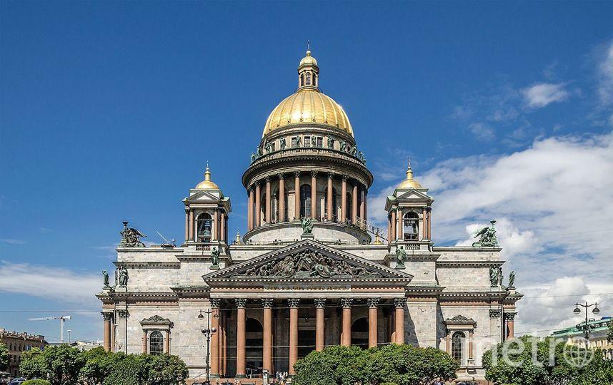 Исаакиевский собор. Фото Wikipedia/Alex 'Florstein' Fedorov
