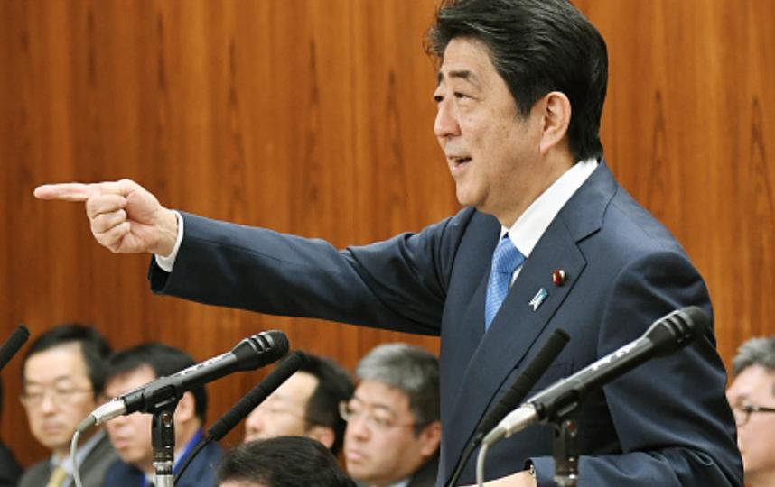 Премьер-министр Японии Синдзо Абэ подчеркнул необходимость давления на Северную Корею. Фото Getty