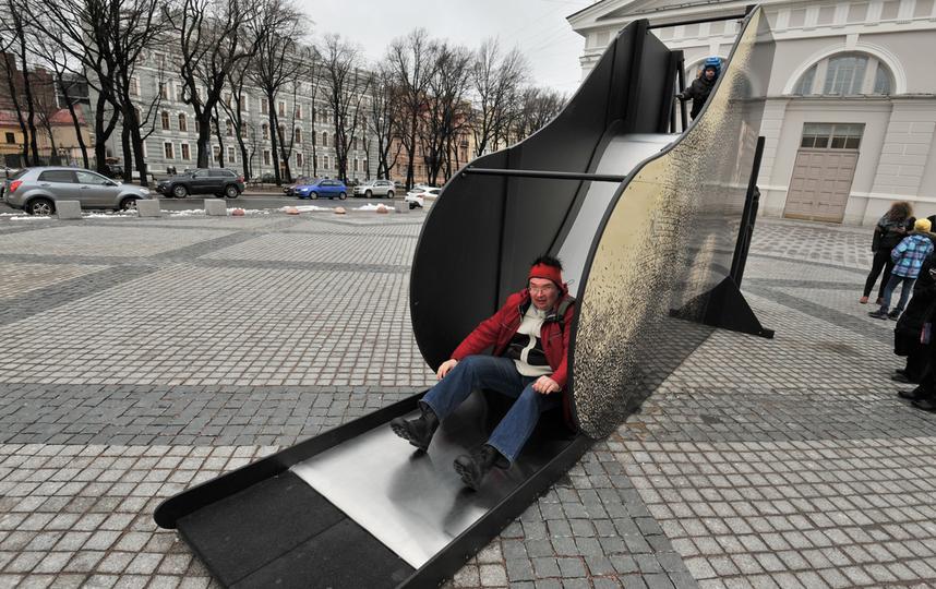 ВПетербурге появился «Нос Кваренги»