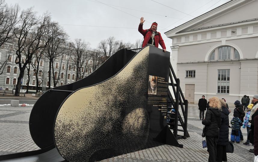 Вцентре Петербурга появился немалый нос