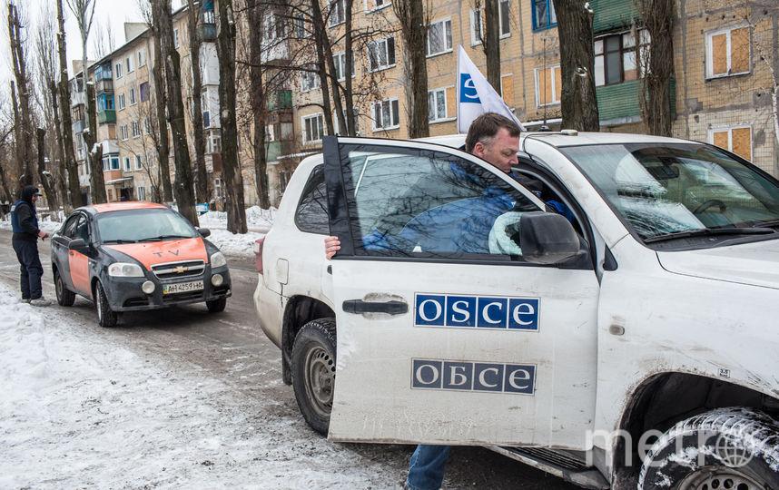 Автомобиль ОБСЕ. Фото Getty