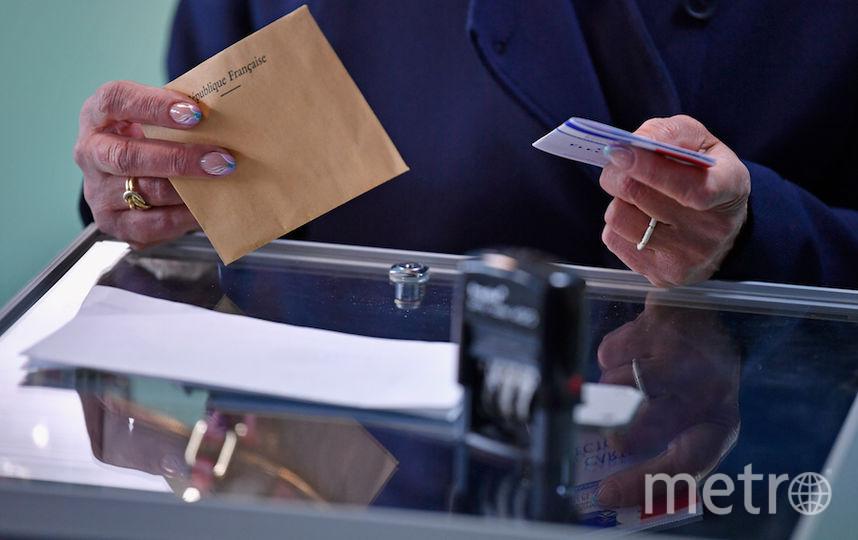 Во Франции проходит первый тур президентских выборов. Фото Getty